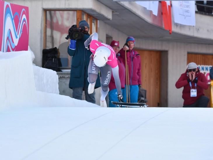 Skeletonistam Elvim Veinbergam sudraba medaļa jaunatnes ziemas olimpiskajās spēlēs